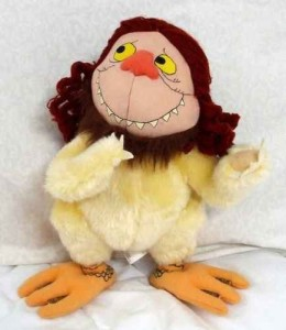 Where The Wild Things Are 12 Inch Plush Tzippy Sipi