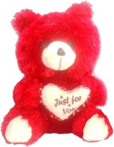 GRJ India Valentines Teddy Bear With Heart  - 25 cm