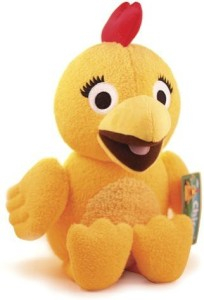 Sprout TV Chica Plush From The Sunny Side Up Show On Sprout 13 Inches