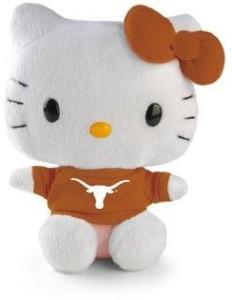 Plushland Hello Kitty Goes To College University Of Texas Plush