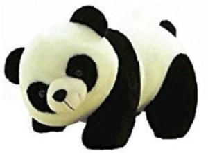 Turban Toys Stuffed Soft Plush Toy Kids Birthday Black Panda  - 10 cm