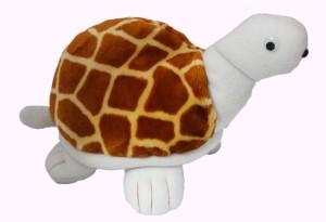 Lavish Blink lavish Blink Tortoise Stuffed Toy White and Brown 30 cm  - 23 cm