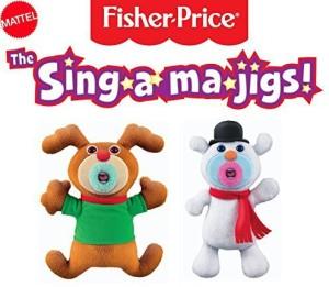 Fisher-Price Mattel The Singamajigs Christmas Combination Duo Set