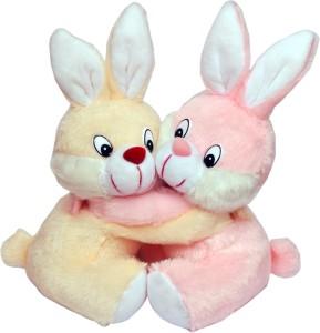 Tabby Cute & Lovely Bunny Couple  - 37 cm
