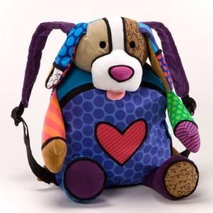 Gund Britto Back Pack Puppy * Romero School Bag