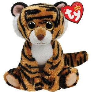 TY Beanie Babies Stripers Plush Tiger