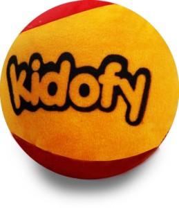 Kidofy Red Yellow Base Ball  - 5.5 inch