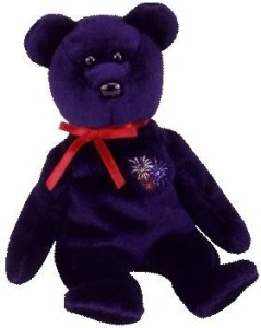 Ty Beanie Babies Sparks Bear (Uk Exclusive)