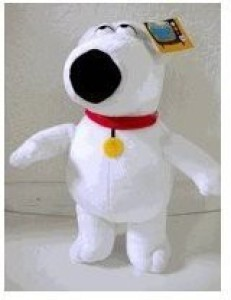 amdlcollections Family Guy Plush Doll Brian 12