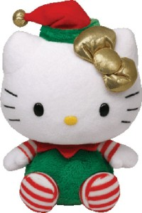 Jungly World HELLO KITTY - green Christmas outf  - 6 inch