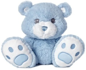 Aurora World Taddle Toes Ba Taddles Bear Plushblue10