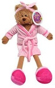 Making Believe Pink Day Spa Teddy Bear