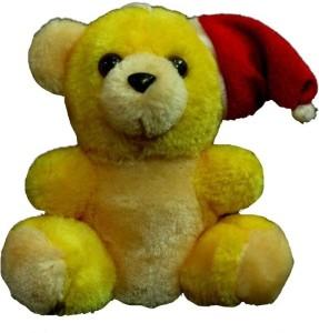 Tickles Car Hanging Santa Teddy  - 4 inch