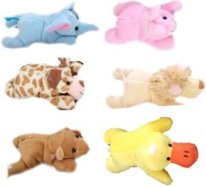 Skylofts Cute Stuffed Plush Fridge Magnet Toys for kids  - 13 cm