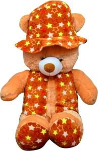 S S Mart 1.5 Feet Brown Modi Teddy Bear with Jacket  - 45 cm