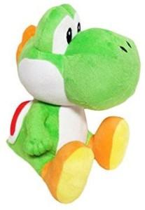Super Mario Brothers Yoshi Green 10 inches Plush  - 20 inch