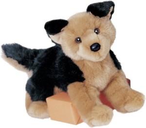 Douglas Cuddle Toys Plush Saba German Shepherd