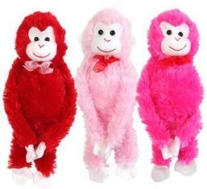 Greenbrier Valentine'S Plush Hanging Monkey 17