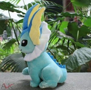 Pokemon 1 X Evolution Pokmon Vaporeon Plush Doll 13