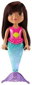 Dora and Friends Fisher-Price Nickelodeon Sparkle and Swim Mermaid Toy  - 14 inch