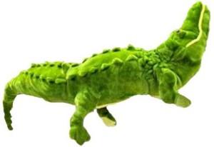 Arthr Alligator Crocodile Green Stuffed  - 30 inch