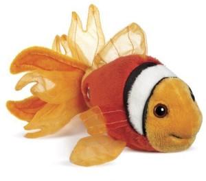 Ganz Lil'Kinz Mini Plush Animal Tomato Clown Fish