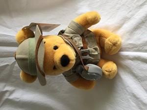 Disney Bean Bag Plush Winnie The Pooh Safari