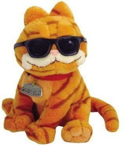 Ty Cool Cat Garfield With Sunglasses