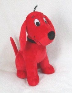 Kohl's Cares Kohls Clifford The Big Red Dog Plush 14 Inches  - 20 inch