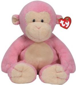 Ty Ba Dangles Pink Monkey