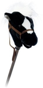 Mary Meyer Easy Ride'Ums 33 Inch Stick Horseblack