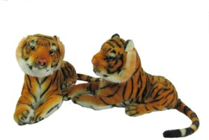 Tickles Pair of Tiger  - 9 inch
