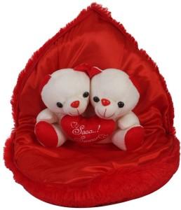 dastaan cute couple in heart  - 12 cm