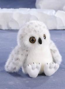 Stuffed Animal House Snowy Owl 45