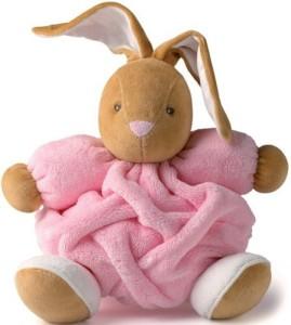 Kaloo Plume Rabbit, Medium, Pink  - 20 inch