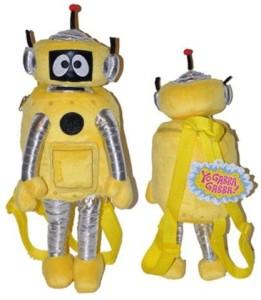 Yo Gabba Gabba Plex Plush Backpack Yellow Best Price in India  3f9f369f0