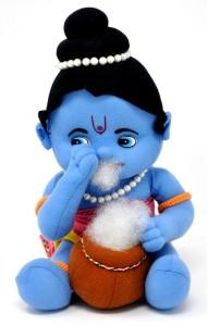FunZoo FunZoo Makhan Chor Hindu Idol Soft Toy  - 30 cm