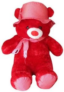 Ktkashish Toys Kashish Red Cap Teddy Bear  - 18 inch