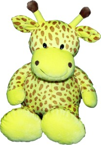 Soft Buddies Friendly Animals - Yellow  - 14 inch