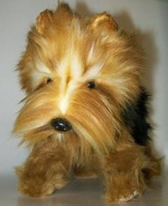 Hansa Yorkshire Terrier Small Plush Dog 10