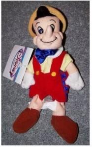 Disney Pinocchio Mini Bean Bag 8