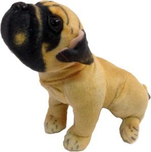 Teddy Berry Cute Pug Dog  - 15 cm