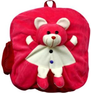 MGP Creation Dark Pink Teddy Nursery Play Kids School Bag  - 14 inch