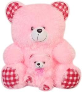 Kashish trading Company Kashish Pink & pink Baby Teddy Bear 45 cm  - 18 inch