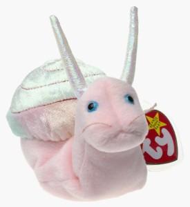 Ty Beanie Babies - Swirly the Snail  - 25 inch