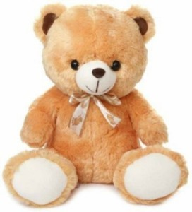 Cuddles Collections Lovely looking cute Brown teady Bear  - 30 cm