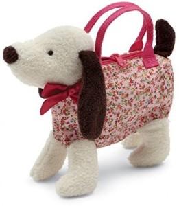 Jellycat Dainty Dog Cream Bag 7