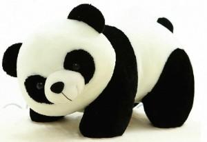 Creative Kids Stuffed Soft Black And White Panda  - 40 cm