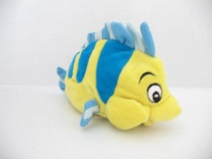 Disney Mini Bean Bag Flounder 7