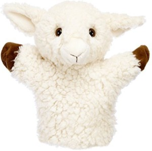 The Puppet Company Carpets Collection'S White Sheep